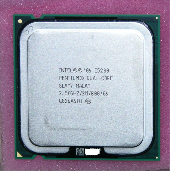 Processador Intel Pentium Dual Core E5200 2.50ghz 2m Cache