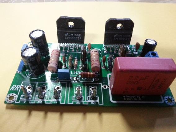 1 Placa Amplificador 130w Rms Montada Mono