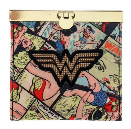 Carteira Wonder Woman Dc Comics 100% Importada E Original