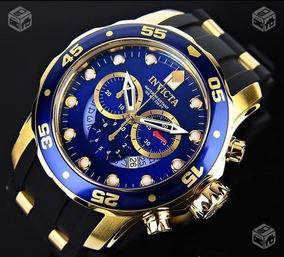 Relógio Invicta 6983 Original Banhado Ouro 18k Novo Lacrado