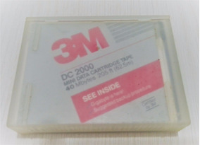 Mini Data Cartridge Tape 3m (40mb, 205ft - 62,5m)