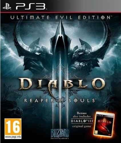 Diablo Iii 3 Reaper Of Souls Ultimate Evil Edition Ps3