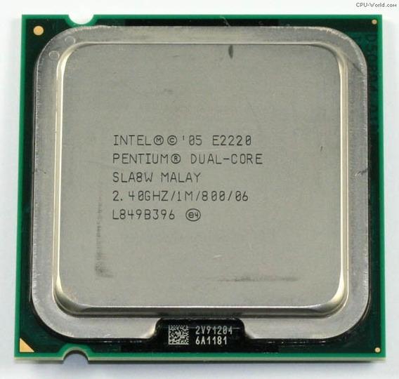 Pentium 2220 Dual Core! Skt 775 2.4ghz 1mb 100% Sem Cooler!