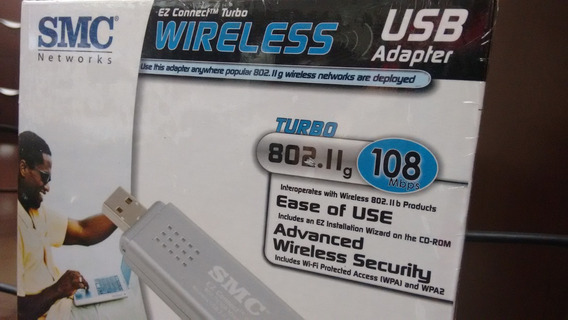 Adaptador Wireless Usb Smcwusbt-g2