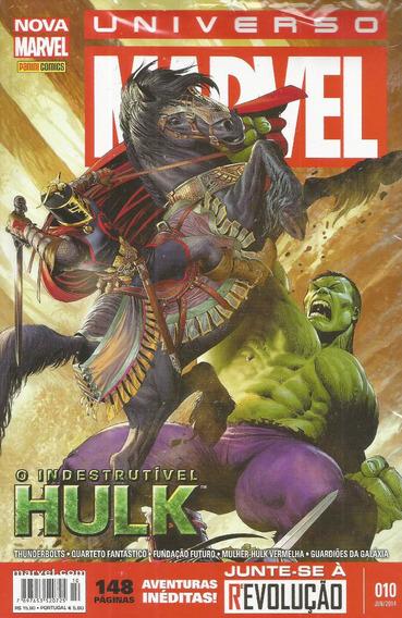 Universo Marvel 10 3ª Serie - Panini - Bonellihq Cx89 G19