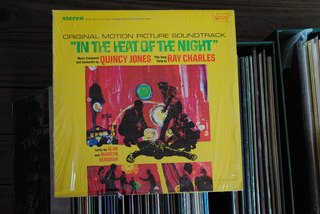 Quincy Jones/ray Charles In The Heat Of The Night Lp Usa