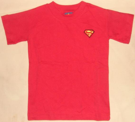 Playera Superman Dc Infantil Niño