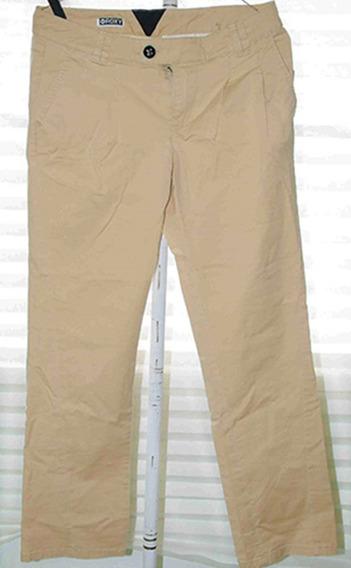 Pantalon Beige Mujer Roxy 100% Original