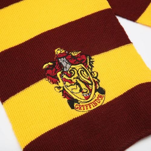 Imagen 1 de 2 de Harry Potter Bufandas Gryffindor:amarillo Y Rojo