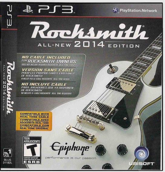 Rocksmith: All - New 2014 Edition ( Região 1) { Ps3}
