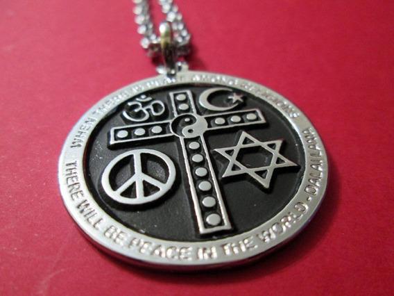 Colar Religiões + Colar Yin Yang