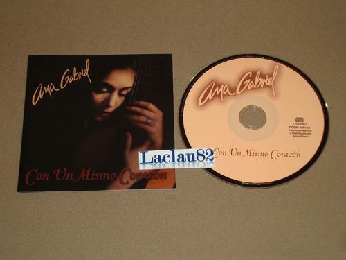 Ana Gabriel Con Un Mismo Corazon 97 Columbia Cd 12 Tracks Mercado Libre