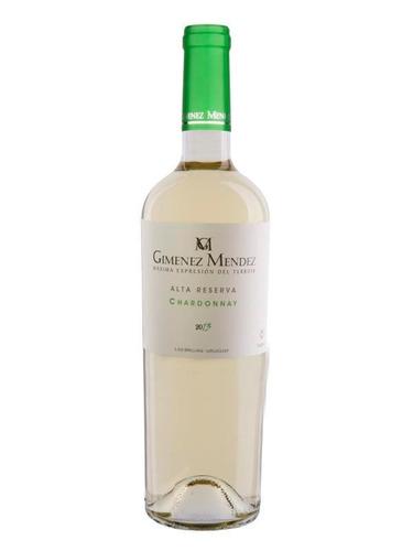 Vino Alta Reserva Chardonnay Bodega Gimenez Mendez (uruguay)