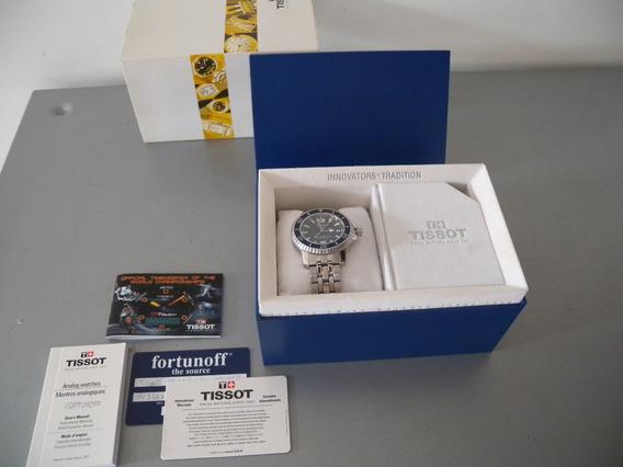 Tissot Seastar 660 Relógio Quartz Como Novo Caixa Completo