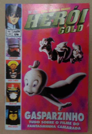 Revista Herói Gold No. 35 Impecável.