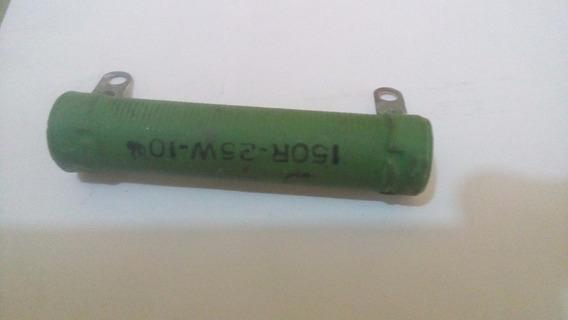 Resistor Fio 25w 150r Novo Preço Sem Igual