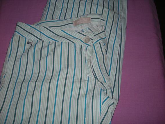 Pantalón Materia Rayado