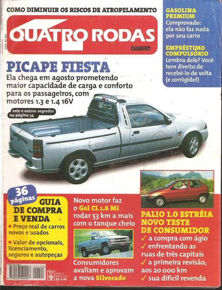 Revista Quatro Rodas Maio De 1997 - N°442 - Picap Fiesta