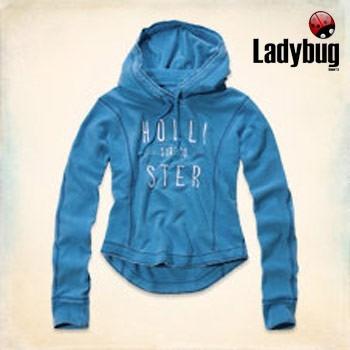Moletom Azul Hollister (hammerland Hoodie) Original M