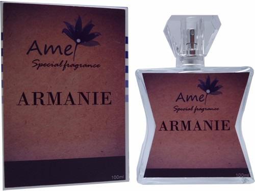 O Perfume Armanie, Inspirado No Perfume Armani É A Tradução
