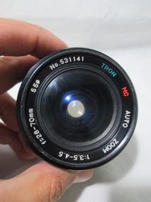Lente Tron Mc Auto Zoom 70mm Camera Fotografica
