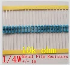 10k 1% Resistor De Precisão 20 Unidades