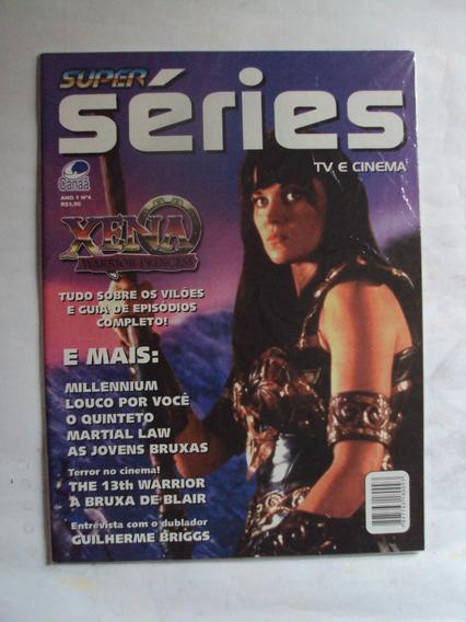 Revista Super Séries Nº 4 - Lucy Lawless Em Xena