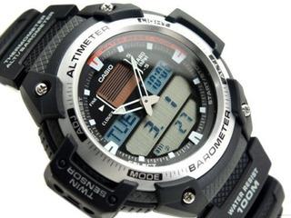 Reloj Casio Sensor, Barométrico, Temperatura, Altitud