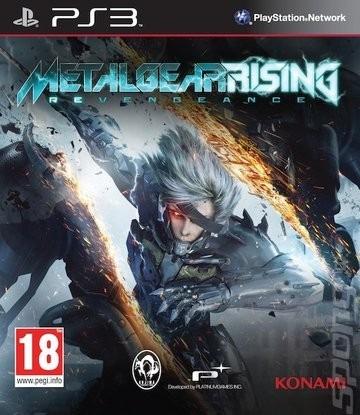 Jogo Metal Gear Rising Revengeanc Ps3 Português Mídia Física