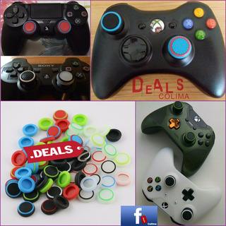 10 Gomas Palancas Controles Xbox 360+envio
