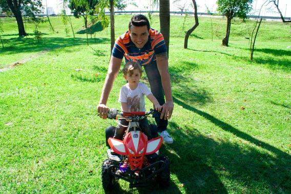 Quadriciclo 50cc 2-tempos Bz Dino Partida A Corda