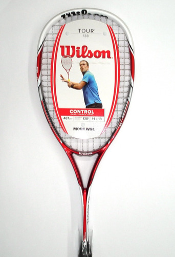 Raqueta Wilson De Squash Profesional Tour 138 Blx