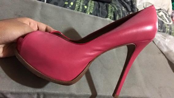Peep Toe Rosa Pink Arezzo 36
