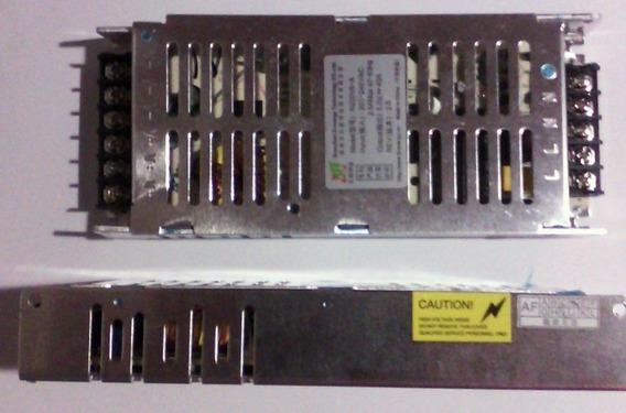 Fonte Chaveada 5v 220v 40a Para Painéis De Led (modelo Novo)