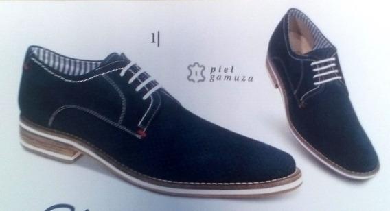 Zapatos Para Caballero Piel De Gamuza/ante Marca Schatz