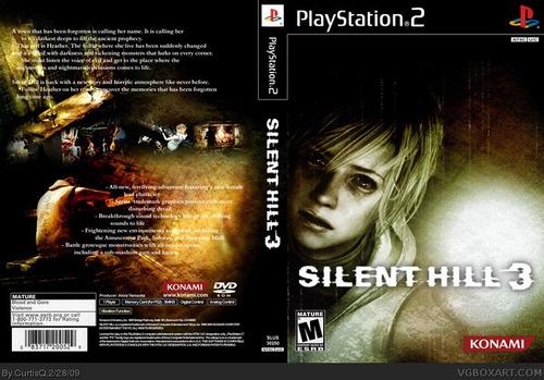 Silent Hill 3 - Ps2 - Frete R$ 17