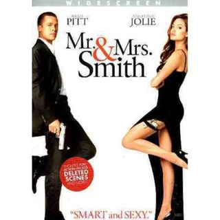 Mr & Mrs Smith (dvd / Ws / Re-pkgd)