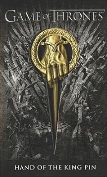 Prendedor Pin Game Of Thrones Mano Del Rey Ned Stark