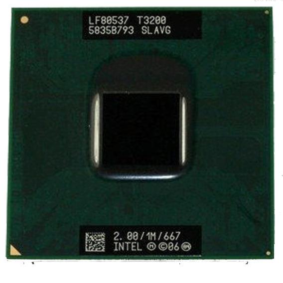 Processador 2.0ghz Intel Dual Core T3200 Slavg Hp Dv4