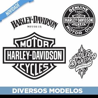 Adesivo Decorativo De Parede Harley Davidson Moto Hd Modelos