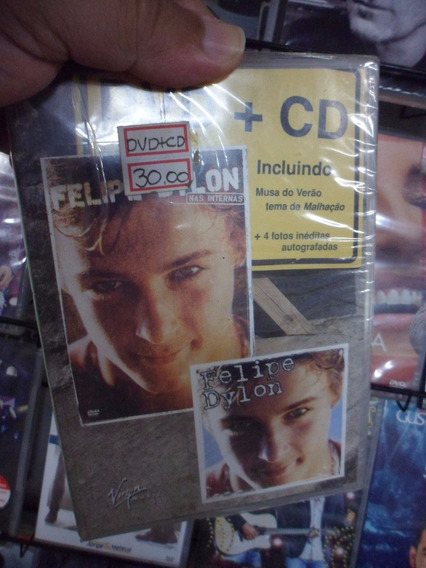 Dvd+cd Felipe Dylon