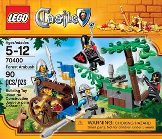 Emboscada En El Bosque Forest Ambush Lego Castle 70400