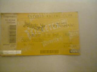 Judas Priest (entrada Del 18/9/2011 En Racing - Con Whitesna