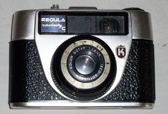 Camera Maquina Fotografica Antiga - Regula Sprinty