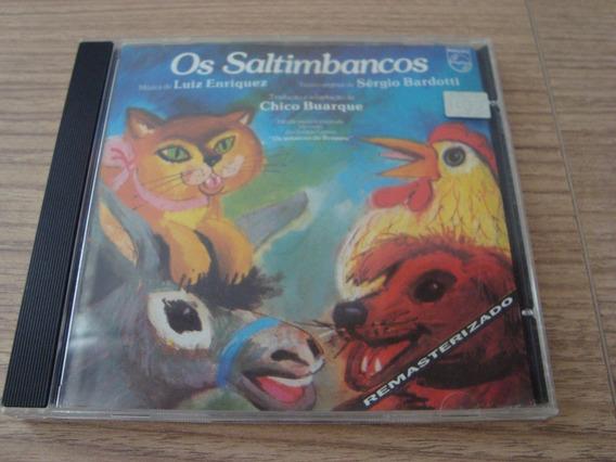 Cd Os Saltimbancos Chico Buarque - Remasterizado -1993