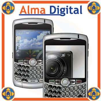 2x1 Lamina Espejo Pantalla Blackberry Curve 8300 8320 8330