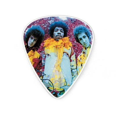 Estojo Com 12 Palhetas Jd Jimi Hendrix - Are You Experienced