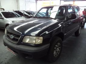 Blazer Std 2.2 Mpfi Gasolina 2000 /00 Azul Ún. Dono Confira!