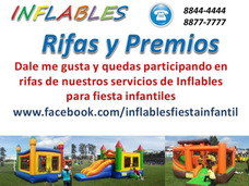 Inflables Alquiler Rifas Premios Face