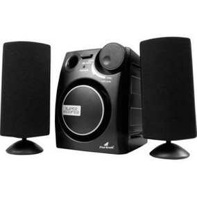 Caixa Multimídia 2.1 Subwoofer 11w Rms Ms2101 Fortrek Recon